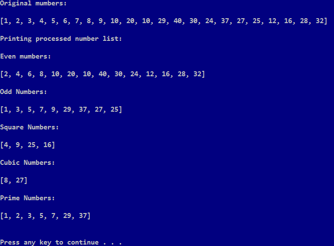 How to filter numbers recursively